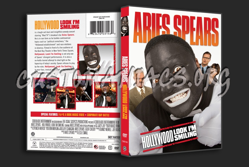 Aries Spears: Hollywood Look I'm Smiling dvd cover - DVD