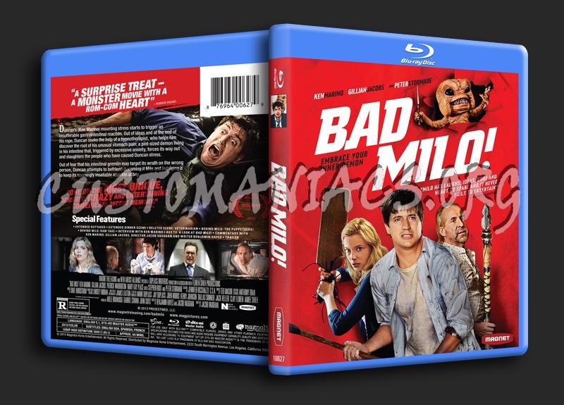 Bad Milo! blu-ray cover