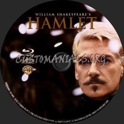 Hamlet (1996) blu-ray label