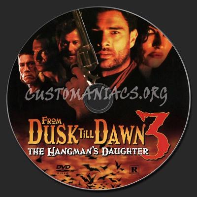From Dusk Till Dawn 3- The Hangman's Daughter dvd label