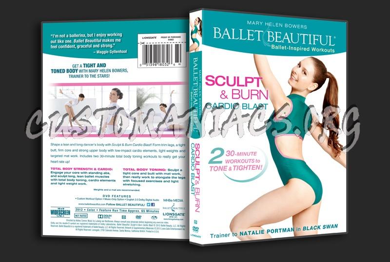 b4939ad9e3 Ballet Beatiful Sculpt   Burn Cardio Blast dvd cover - DVD Covers ...