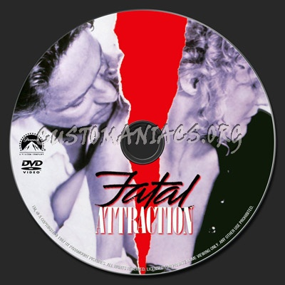 Fatal Attraction dvd label