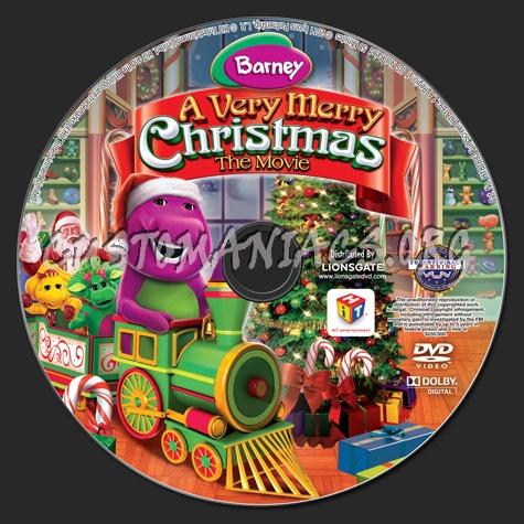 Barney A Very Merry Christmas The Movie Dvd.Barney A Very Merry Christmas The Movie Dvd Label Dvd