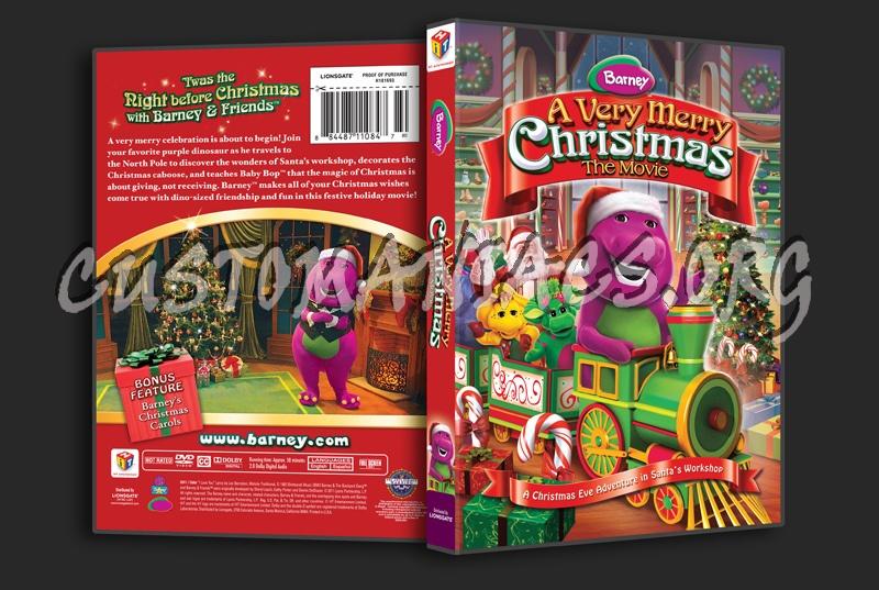 Barney A Very Merry Christmas The Movie Dvd.Barney A Very Merry Christmas The Movie Dvd Cover Dvd