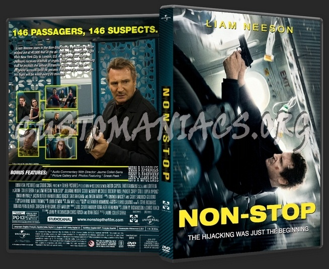 Non Stop dvd cover - DVD Covers & Labels by Customaniacs ...