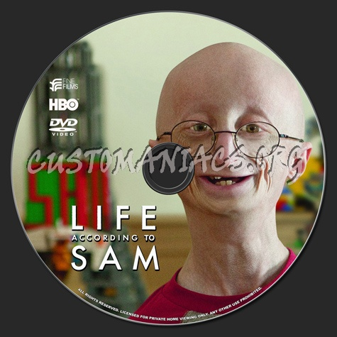 Life According to Sam dvd label