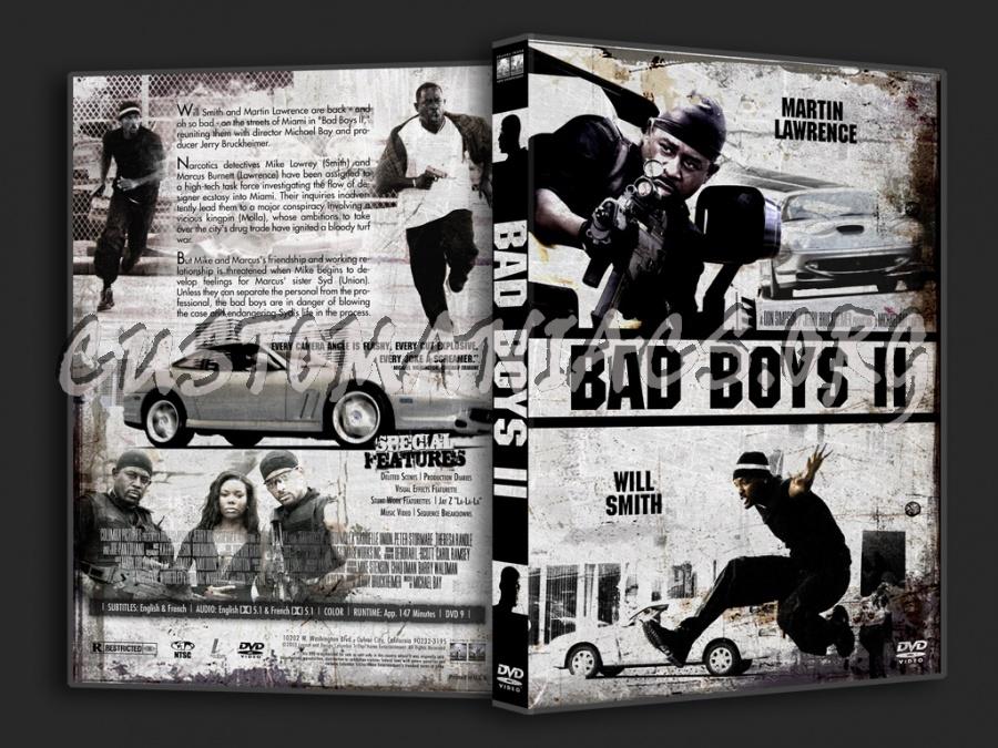 Bad Boys 2 dvd cover