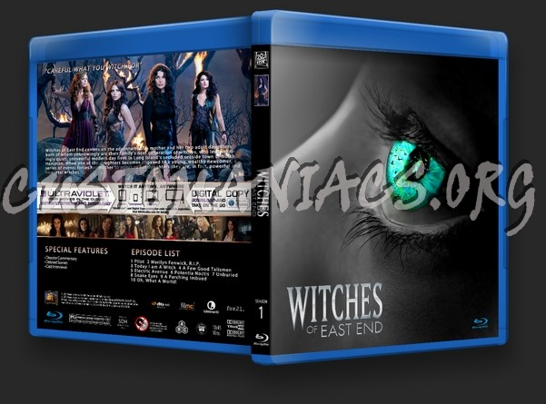 Witches of East End Season 1 blu-ray cover