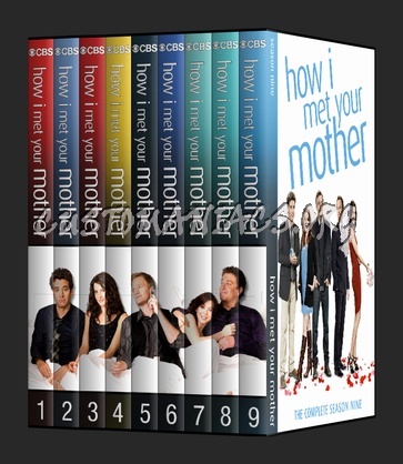 How I Met Your Mother Dvd Cover Dvd Covers Labels By Customaniacs Id 205389 Free Download Highres Dvd Cover