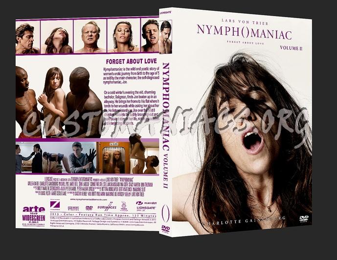 Nymphomaniac Volume Ii Dvd Cover
