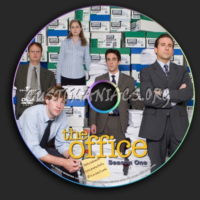 The office season 1 us dvd label dvd covers labels by customaniacs id 34965 free - The office season 1 online free ...