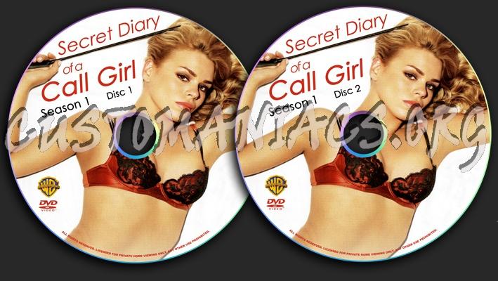 Secret Diary of a Call Girl Season 1 dvd label