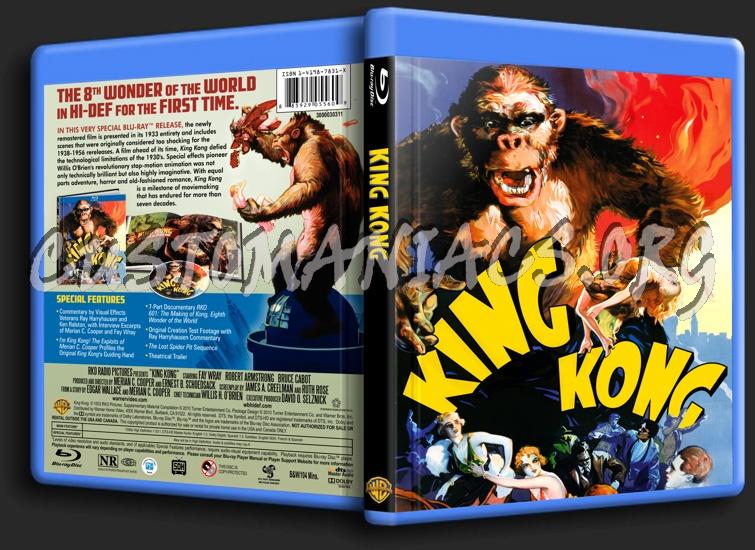 King Kong 1933 blu-ray cover