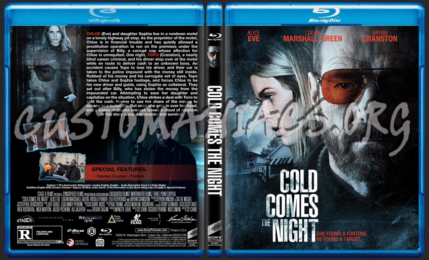 Cold Comes The Night blu-ray cover