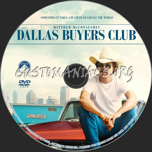 Dallas Buyers Club dvd label - DVD Covers & Labels by ...   500 x 500 jpeg 97kB