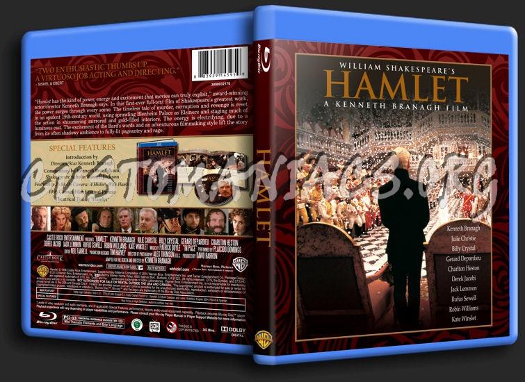 Hamlet (1996) blu-ray cover