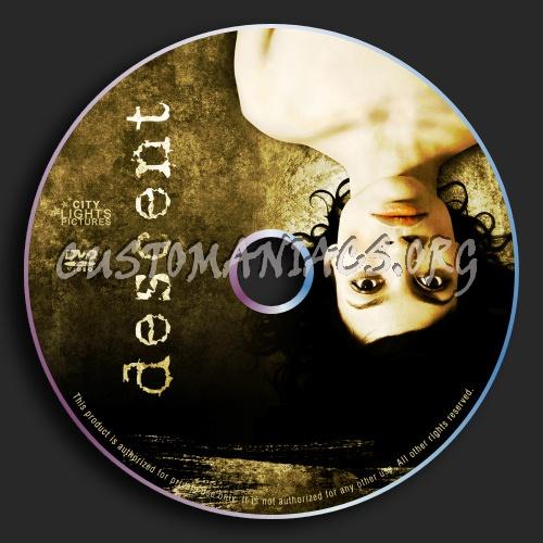 The Descent dvd label