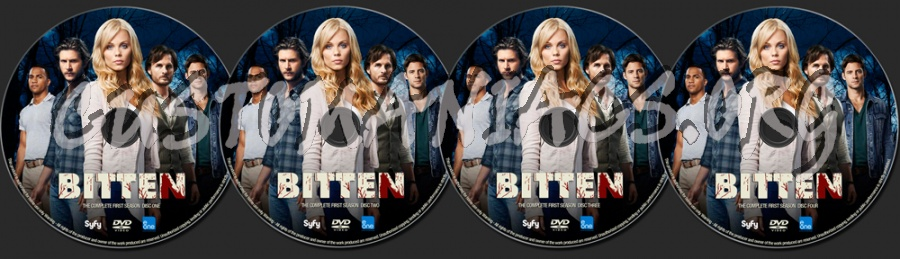 Bitten Season 1 dvd label