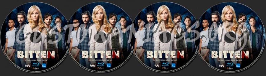 Bitten Season 1 blu-ray label