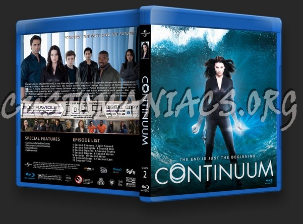 Continuum Season 2 blu-ray cover