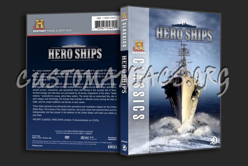 Hero Ships dvd cover