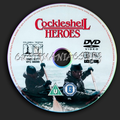 Cockleshell Heroes dvd label