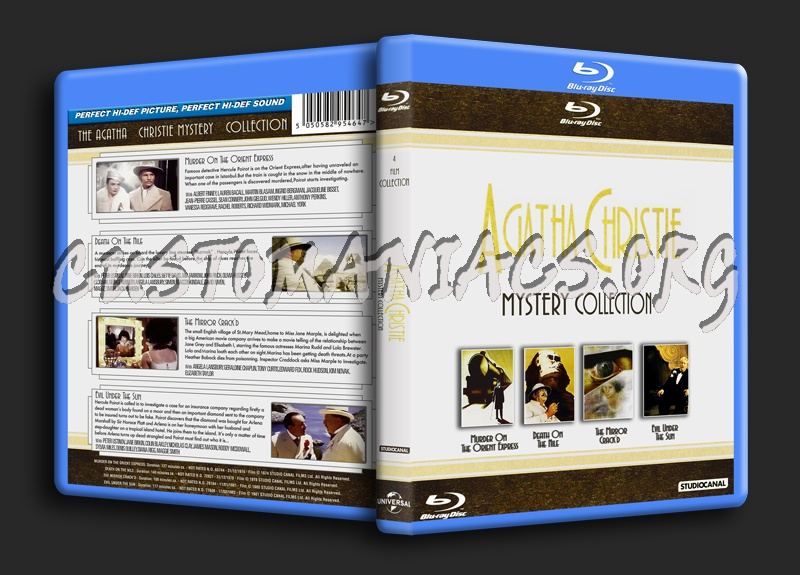 Agatha Christie Mystery Collection blu-ray cover