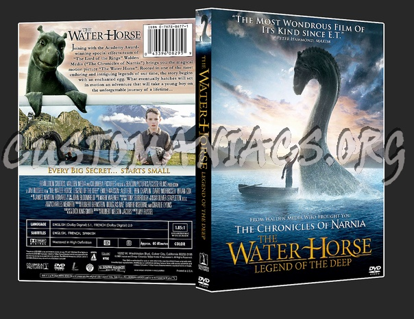 Water Horse: Legend of the Deep, The dvd cover