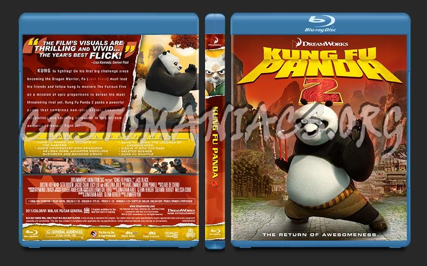 Kung Fu Panda 2 blu-ray cover