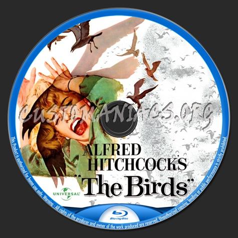 The Birds blu-ray label