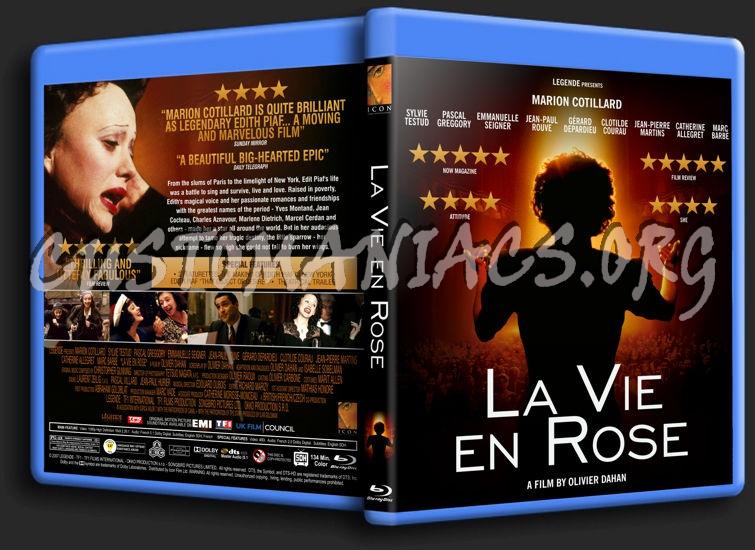 La Vie en Rose blu-ray cover