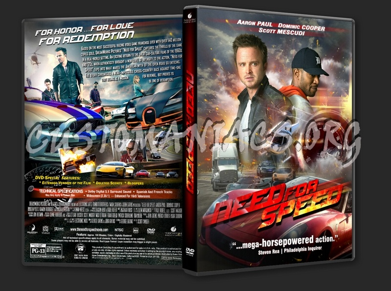 Need For Speed 2014 Dvd Cover Dvd Covers Labels By Customaniacs Id 206710 Free Download Highres Dvd Cover