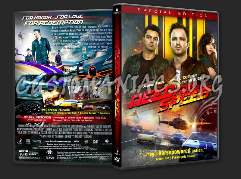 Need For Speed 2014 Dvd Cover Dvd Covers Labels By