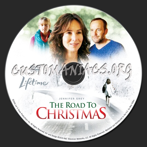 The Road To Christmas.The Road To Christmas Dvd Label Dvd Covers Labels By