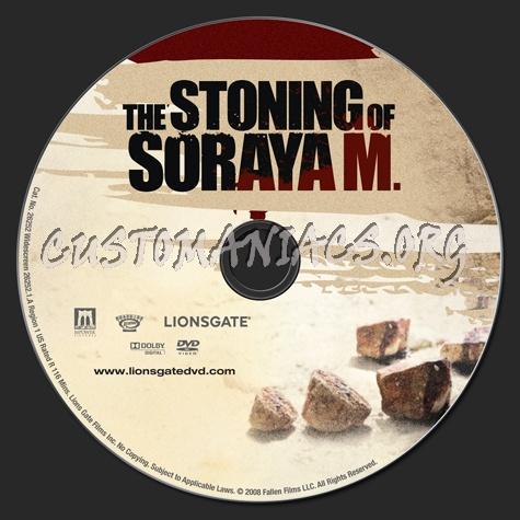 The Stoning of Soraya M dvd label