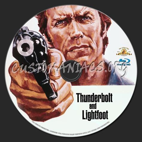 Thunderbolt and Lightfoot blu-ray label