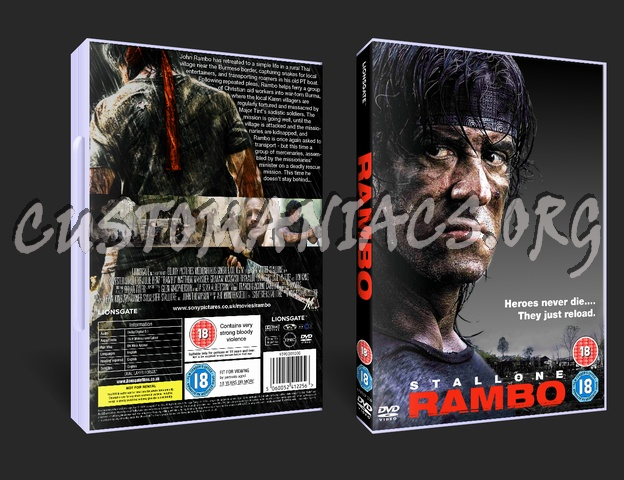 Rambo dvd cover
