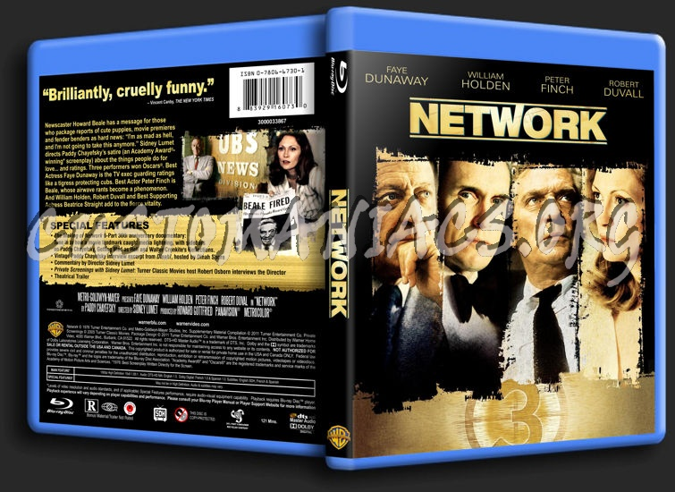 Network blu-ray cover
