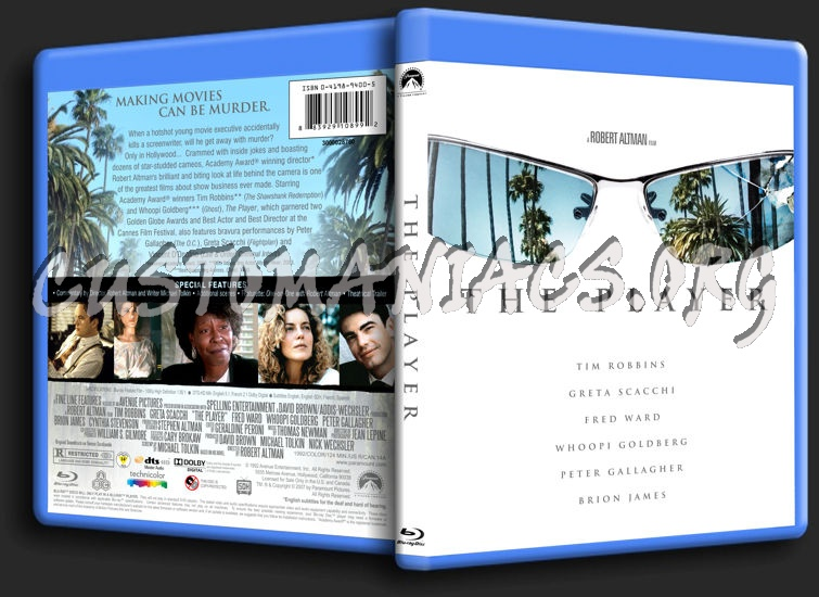 The Player blu-ray cover