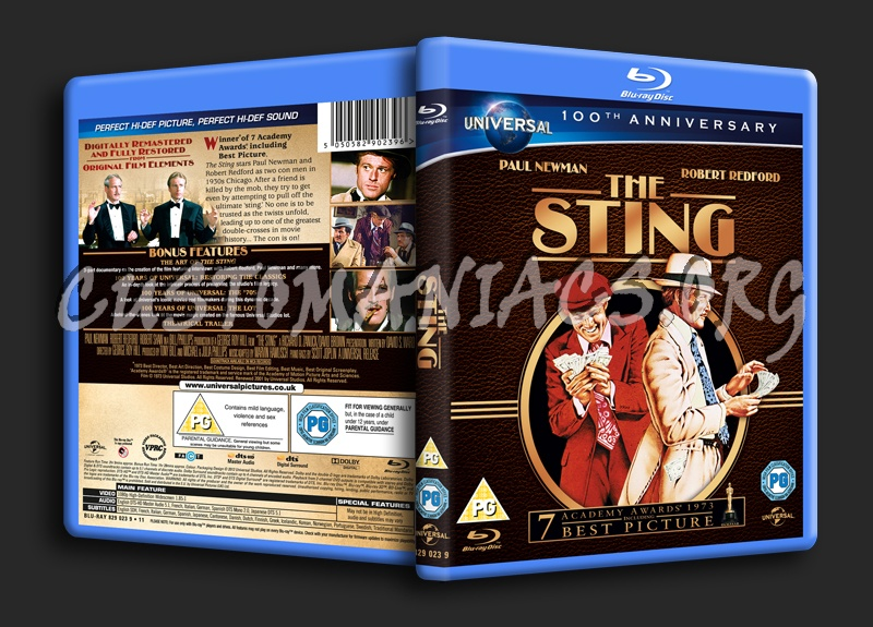 The Sting blu-ray cover
