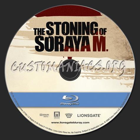 The Stoning of Soraya M blu-ray label