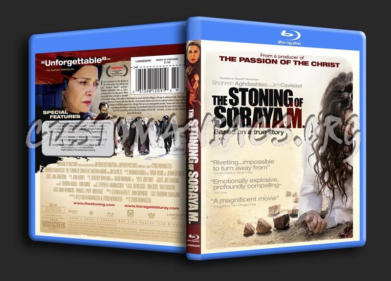 The Stoning of Soraya M blu-ray cover