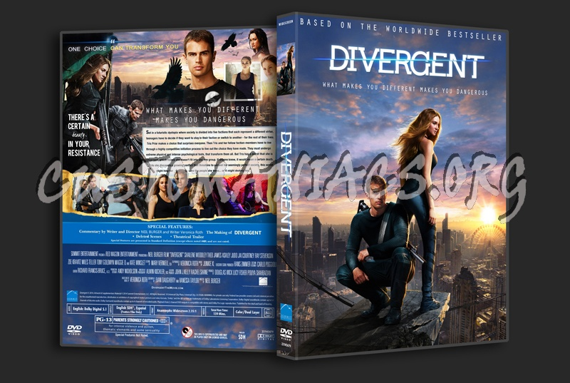 Divergent dvd cover - ...