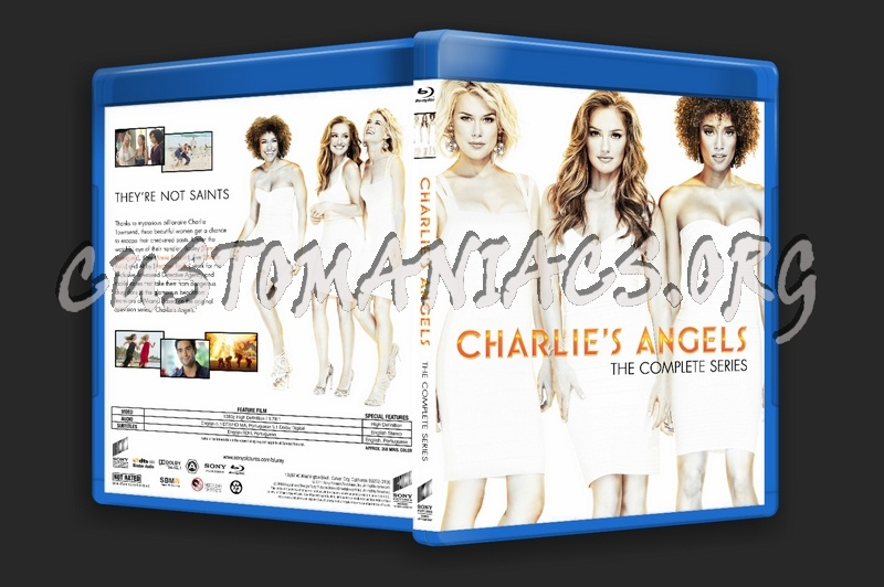 Charlie's Angels - The Complete Series blu-ray cover