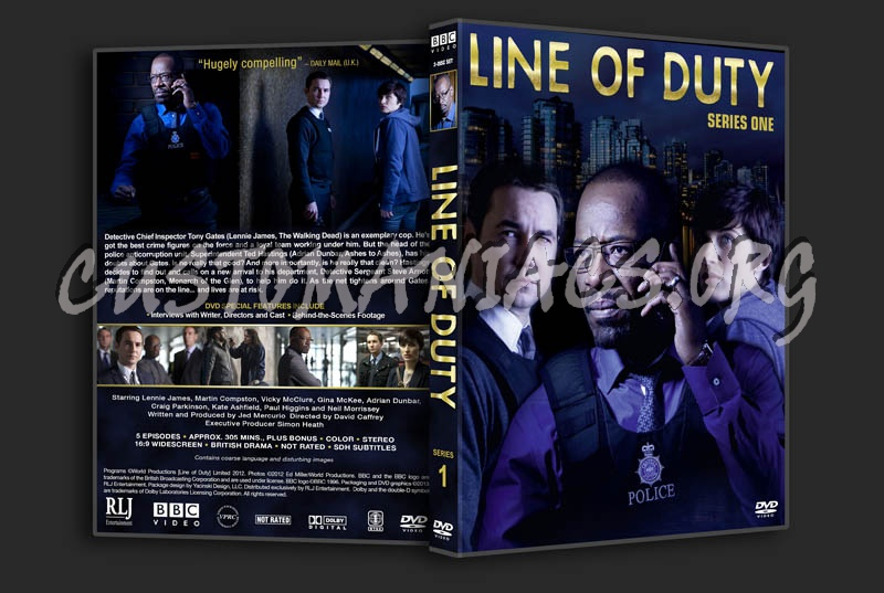 Line of Duty - Series 1 dvd cover