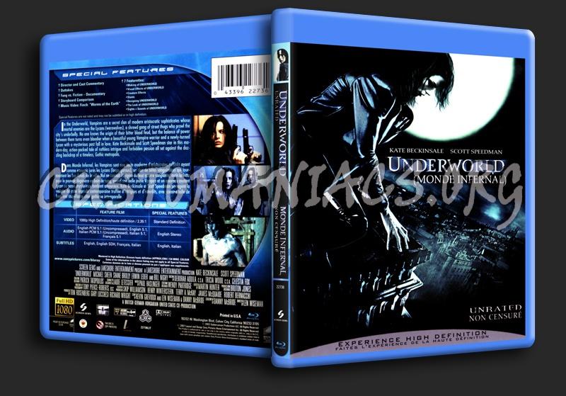 Underworld blu-ray cover