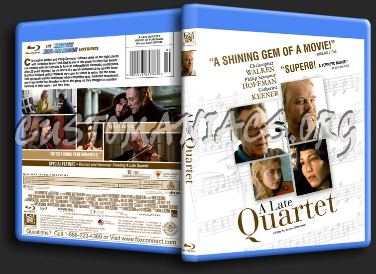 A Late Quartet blu-ray cover - DVD Covers & Labels by ...
