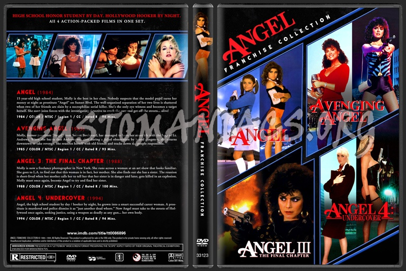 Angel - Franchise Collection dvd cover
