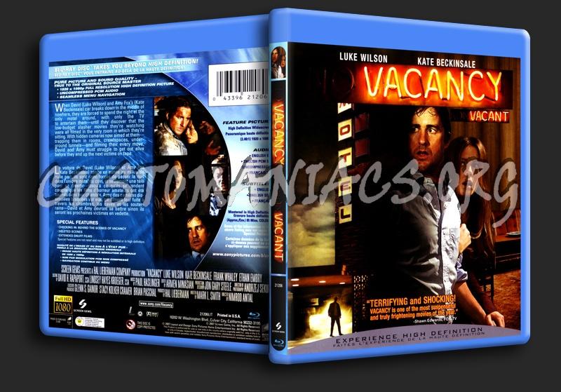 Vacancy blu-ray cover