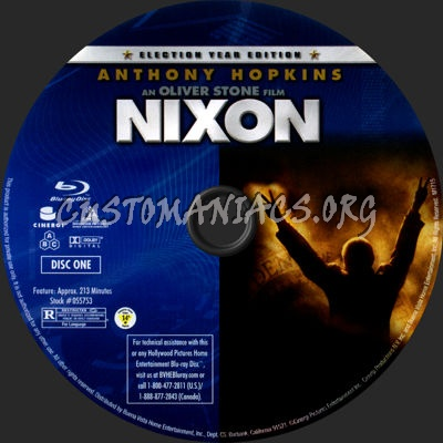 Nixon blu-ray label
